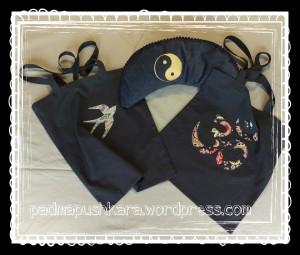 Mondkissen und Taschen